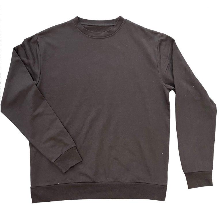 Wholesale Unisex Black Sweatshirts
